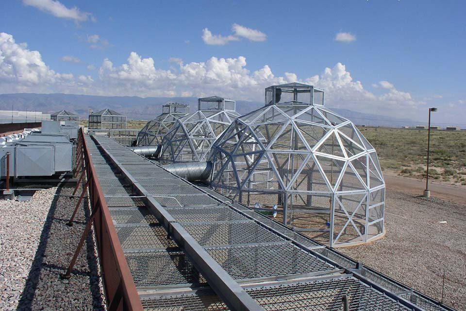 Primadomes at Holloman AFB